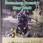 Trails of the Boundary Country Map Book